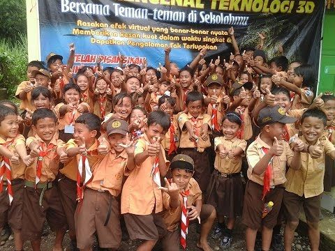 Waralaba Bioskop Mini 3d Goes to school Indonesia