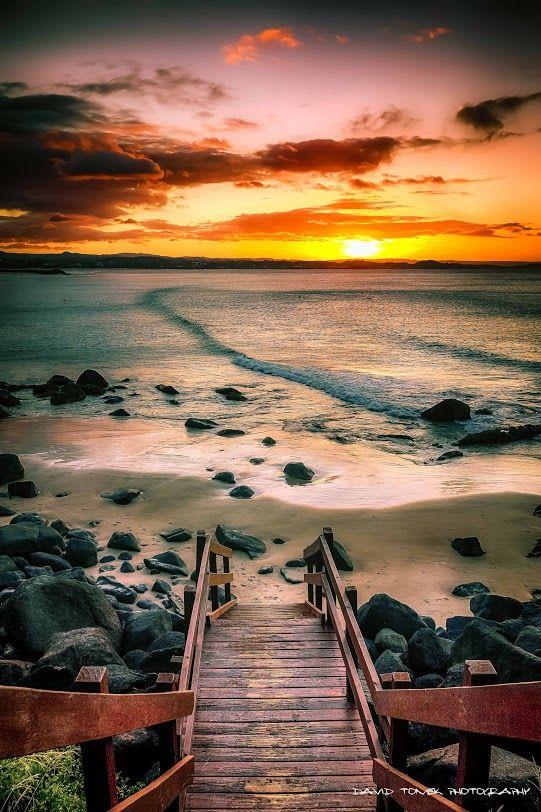 There are so many amazing photo opportunities around our venue! This fabulous shot is by D Tomek Sunset at Greenmount beach, Gold Coast - Australia