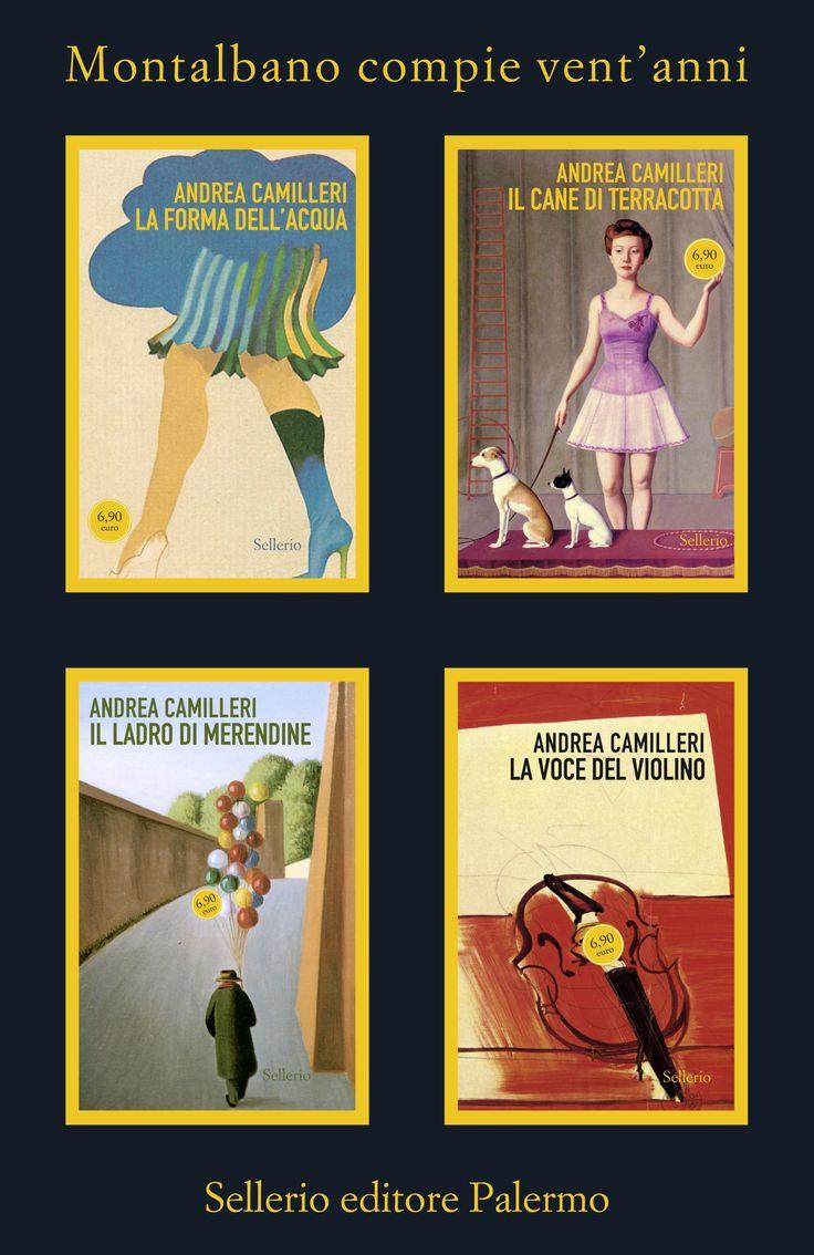 La casa editrice celebra i vent'anni del commissario Salvo Montalbano riproponendo  tutti i romanzi in edizione speciale.