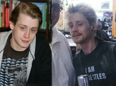 Macaulay Culkin then & now