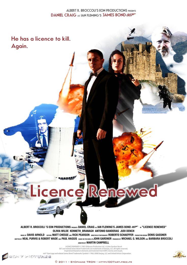 John Gardner - 'Licence Renewed' - Poster 1