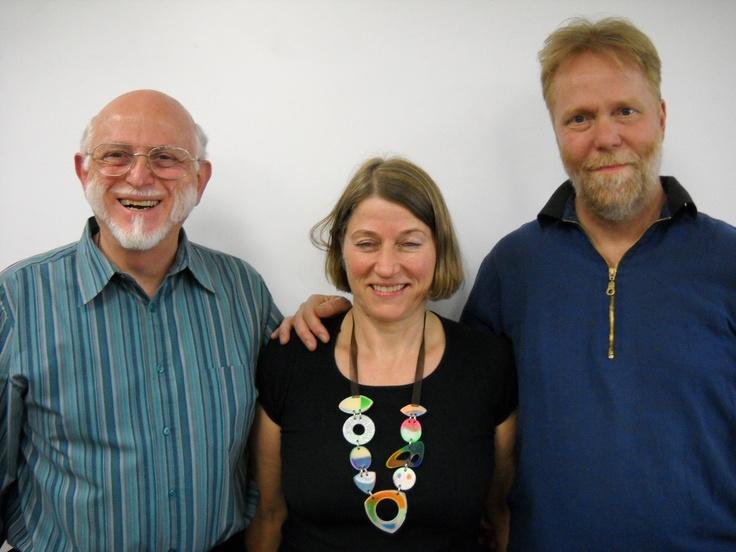 From left: Bill Flocco, Director, American Academy of Reflexology, and Instuctors Dorthe Krogsgaard, Peter Lund Frandsen from Denmark.  www.AmericanAcademyofReflexology.com