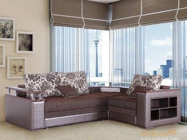 Диван Гранд кут - стильна модель кутового дивана для створення ексклюзивного сучасного інтер'єру. Купити диван можна в розстрочку в інтернет-магазині МебельОк.