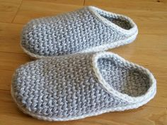 Ravelry: AlisonG-UK's First attempt slipper clogs