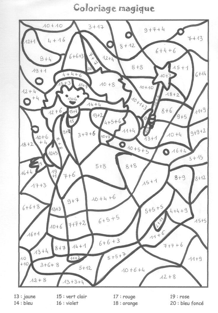 coloriage magique de maths dessincoloriage