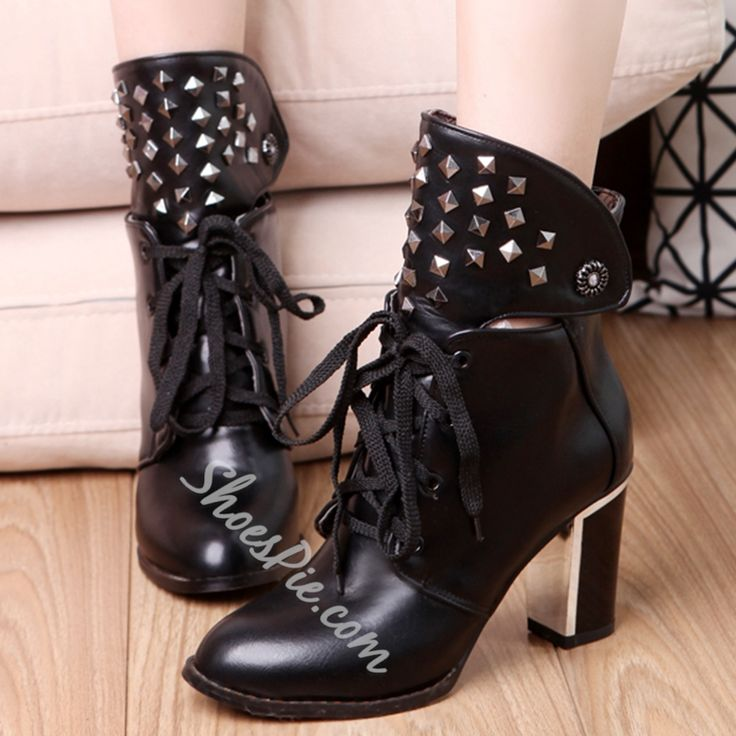 Pin these shoes Shoespie Rivets Mid Block Heel Martin Boots #Fashion, #Shoepie, #Womens http://www.fashion4shoes.com.au/shop/shoepie/shoespie-rivets-mid-block-heel-martin-boots/