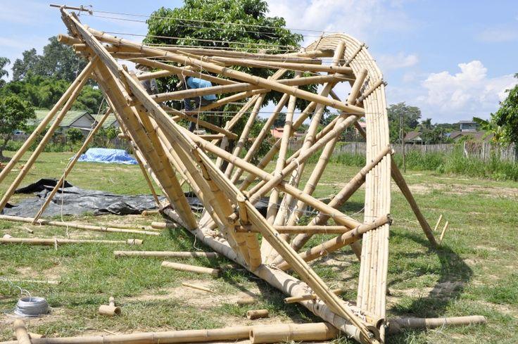Bamboo truss