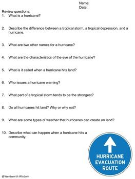 Hurricanes+HURRICANE+JOAQUIN: Engage students in hurricane knowledge. Students will read about hurricanes in an originally written hurricanes informational text passage, creatively name their own hurricanes, determine hurricane damage, and research hurricanes locations.