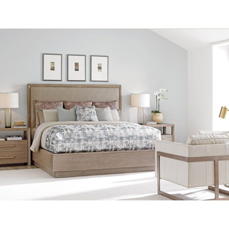 Lexington Home Brands Shadow Play Uptown Platform Bed - 01-0725-133C