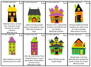 Liz S Speech Therapy Ideas Halloween Articulation Inferences