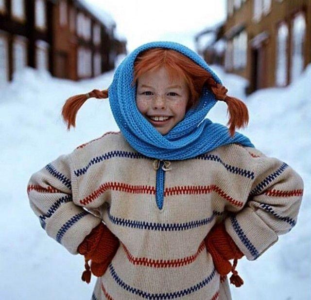 Vil du strikke Pippis genser? Her finner du oppskrifter!