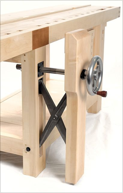 A reproduction of St. Peter's Cross, Benchcrafted's Crisscross vise offers a superb option for Leg Vise users. BenchCrafted.com - Glide Crisscross
