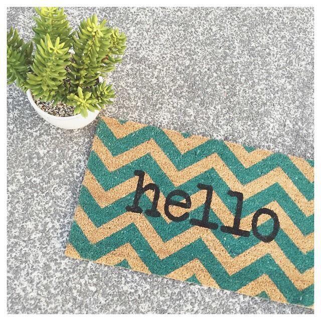 Hello doormat.