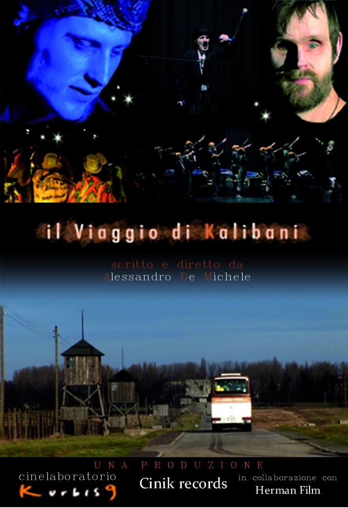 """Alessandro De Michele is creating docufilm: """"The Journey of the Kalibani"""". Look for a film distributor: Promote the film and the theater project of """"kalibani"""""""