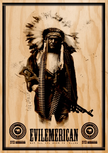 Plywood Poster Print What if Indians...
