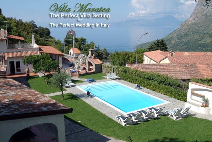 VILLA MARATEA - sits high above the Tyrrhenian Sea in one of italy's most beautiful and unspoiled hill-towns - Maratea