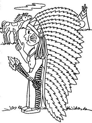 28 best INDIANS COLORING BOOK images on Pinterest Coloring books