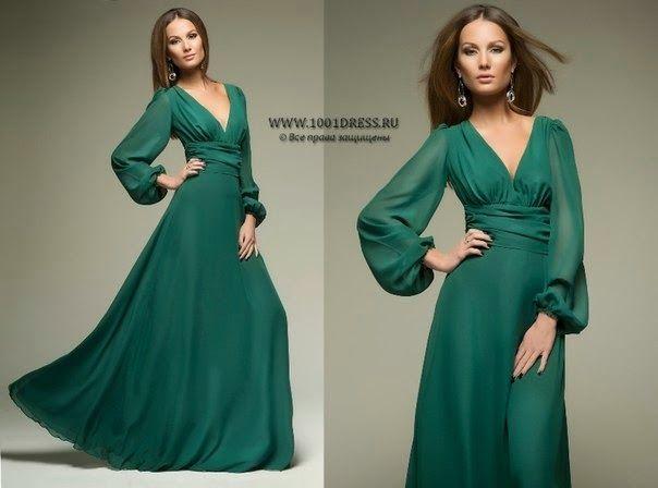 Благородное платье фото