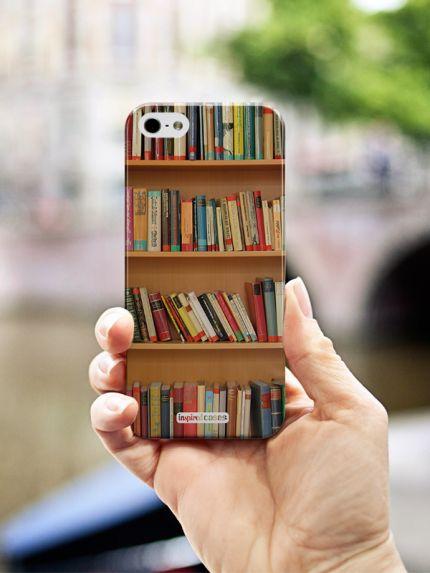 Inspired Cases Bookshelf - Book Lover Case for iPhone 5 & 5s Inspired Cases