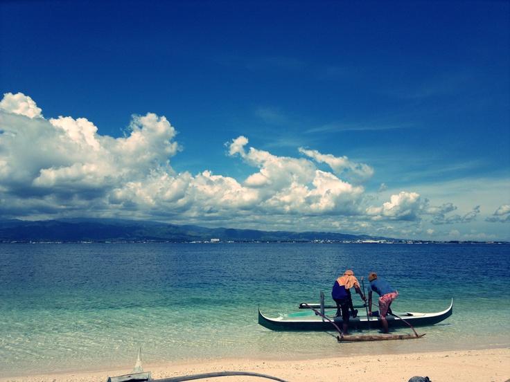 Sta. Cruz Island in Zamboanga City Philippines.