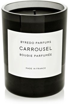 Carrousel scented candle by: Byredo @Annette Howard Nokes-a-Porter Global