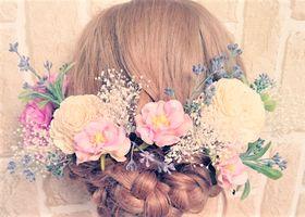 結婚式用*可愛すぎるハーフアップの髪型参考画像集