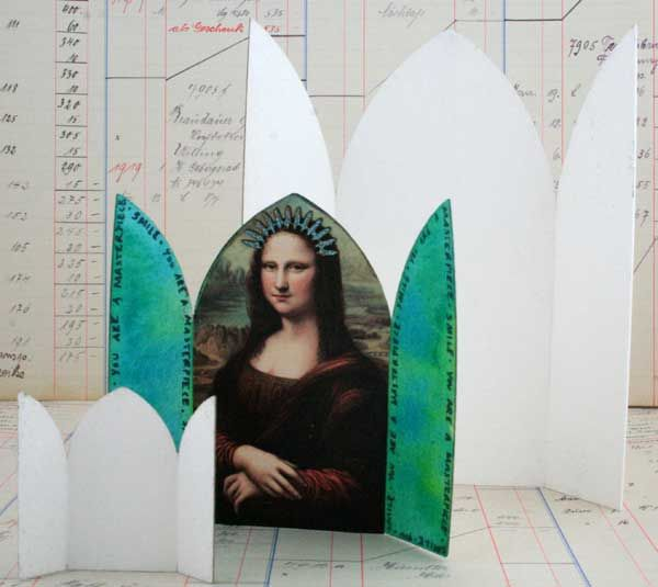blank shrines...easy to cut out of cardboard.
