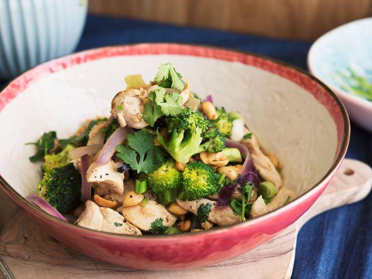 Chicken and broccoli stir fry