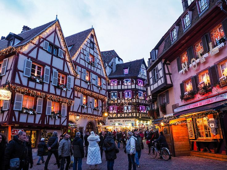 European Christmas markets are the best experience! Christmas market in Colmar, France