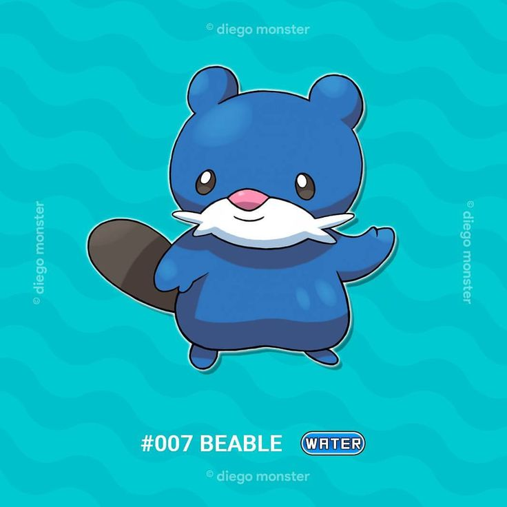 Special day everyone!, October is here and the third revamped Mapu Region fakemon starter shows up! For everyone who may not know, meet Beable, the bubble pokémon and the #watertype starter. Beable can inflate its body to bounce around, shooting bubbles with its mouth 💧. . . . . #art#illustration#drawing#characterdesign #monsterdesign#pokedex#videogames#design#anime#cartoon#comic #conceptart #pokemon #pokemonsunandmoon#pokemongo#pokemonart…