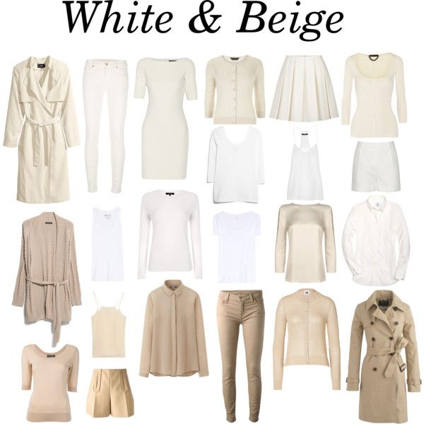 """So Far...White & Beige"" by charlotte-mcfarlane on Polyvore"
