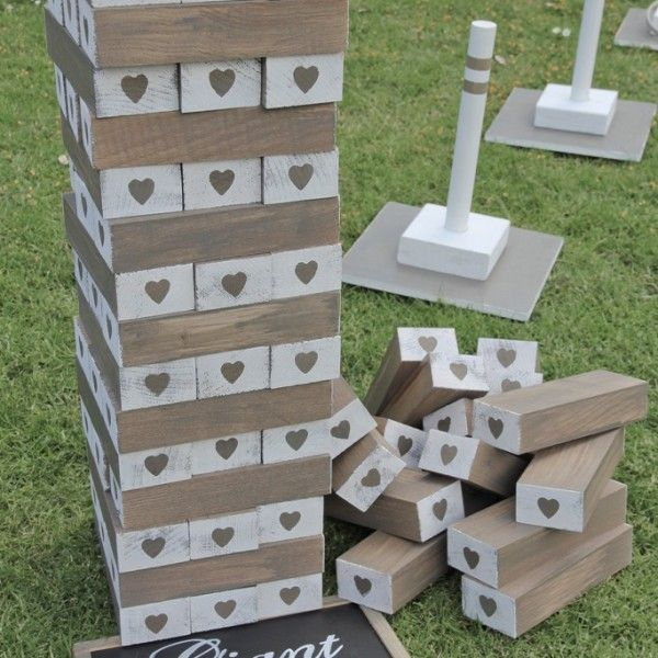 Lawn Game Giant Jenga