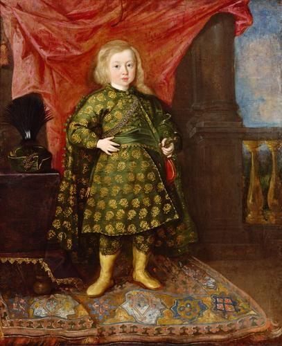 """Prince Sigismund Casimir Vasa in Polish Costume"" by Peter de Rij (1644)"