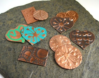Cinnamon Jewellery: Embossing Metal With My Sizzix Bigshot