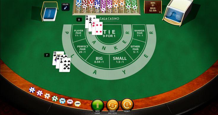 #Baccarat Casino Spiel von #Playtech ist da! Spiele ohne Anmeldung die beliebten Spiele für Spass!