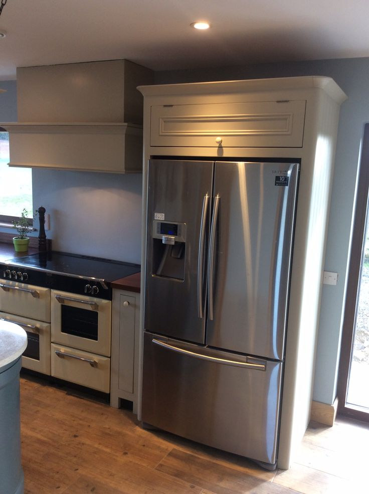 kitchen cabinets refrigerator surround 411 best images about house on gray cabinets 6353