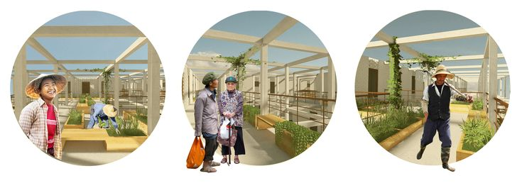 Galeria de Equipe brasileira recebe menção honrosa em concurso internacional de ideias para habitação social na China - 8