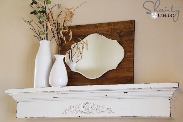 floating mantel shelf plans woodworking projects plans. Black Bedroom Furniture Sets. Home Design Ideas