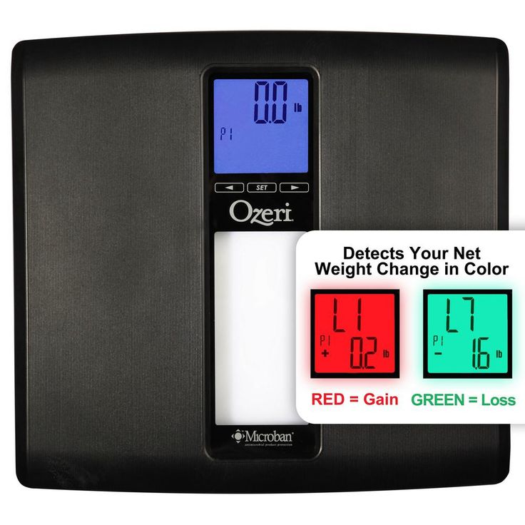 WeightMaster II 440 lbs. Digital Bath Scale with BMI and Weight Change Detection, Black