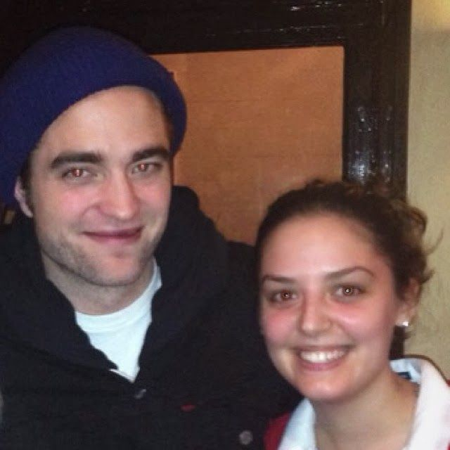 New fan pic ~ London Jan. 2014 All these lucky fans :)
