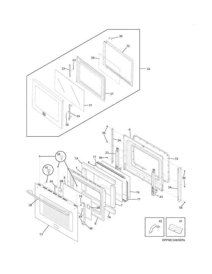Shop for FRIGIDAIRE WALLOVEN-MICROWAVE COMBO repair parts