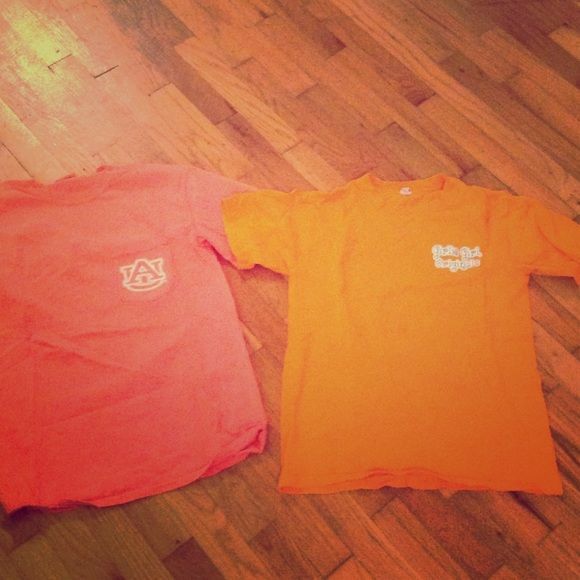 EUC orange t shirts Great condition Tops Tees - Short Sleeve