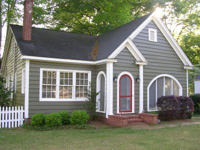 108 best images about exterior paint colors on pinterest for Beach house gray paint colors