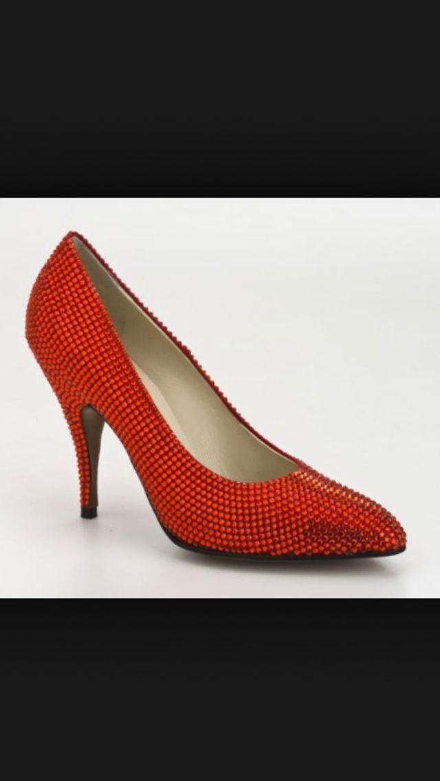 Red #Cinderella #Shoes #NapoleonPerdis #PinToWin