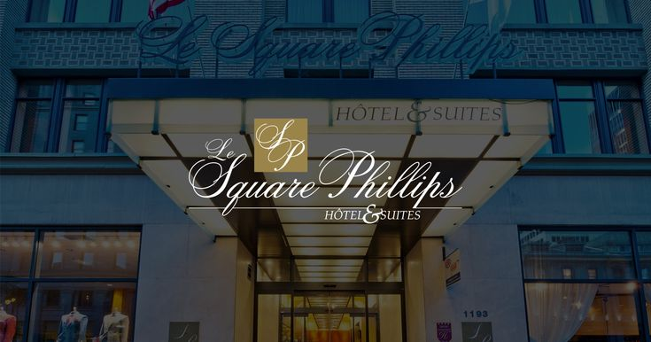 Le Square Phillips welcomes you downtown Montreal. If you are looking for hotel accommodations downtown Montreal and the coziness of an apartment, you will appreciate the comfort of Le Square Phillips.