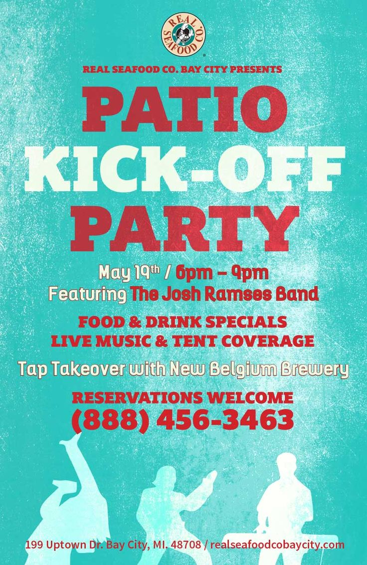 Real Seafood Company Patio Kick-off Party