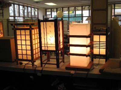 Японские светильники.