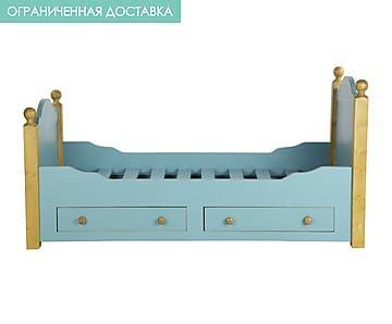 Кровать детская с 2 ящиками
