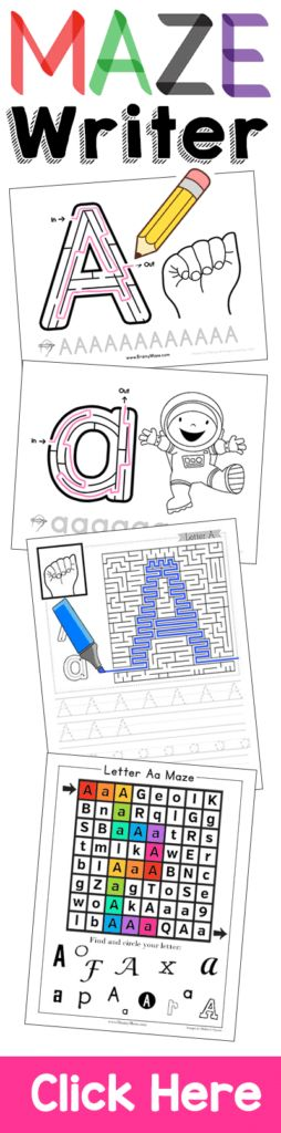 Handwriting has NEVER been so much FUN! Maze Writer engages young children and helps build logic, reasoning and small motor control. Homeschool Handwriting