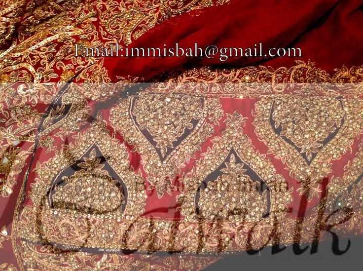 HSY's bridal replica closeup